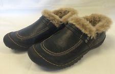 J-41 Jeep Hiking Trail Shoes Vegan Faux Fur Lined Black Women'S Winter FELT LIKE WALKING ON A CLOUD
