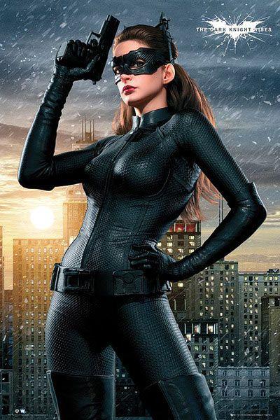 Póster Batman: The Dark Knight Rises, Catwoman, posando