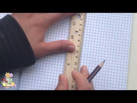 طريقة عمل وحدة زخرفية نباتية وتكرارها How To Draw A Simple Arabesque Design Youtube Grid Lines