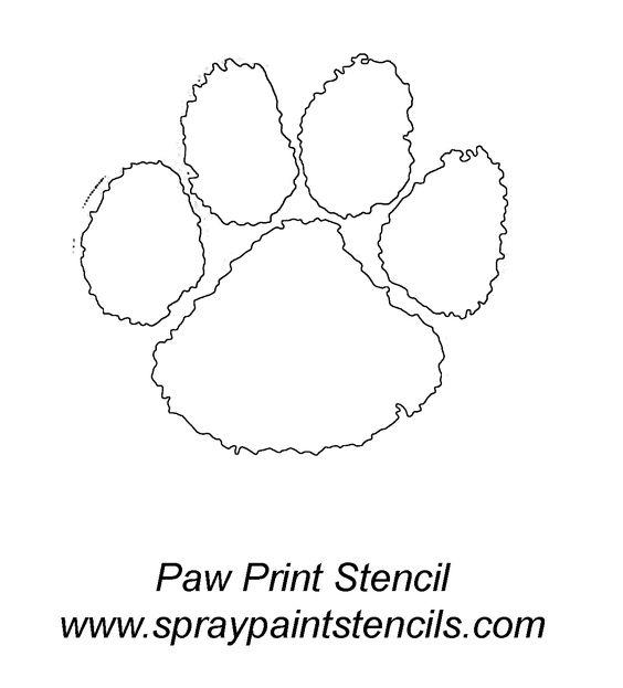 Pawprint Spray Paint