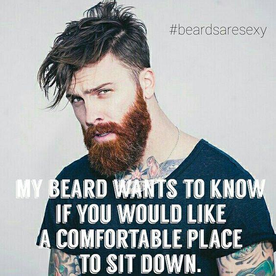 Men with beard !