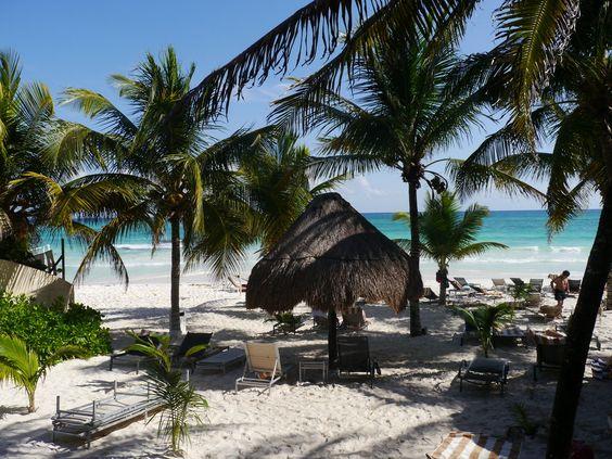 So sieht Paradies aus! #Tulum #Mexiko - Hotel Catalonia Royal Tulum mit 89 % Holidaycheck-Bewertung!