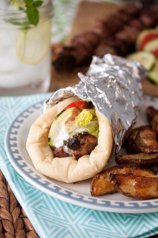 Souvlaki Gyros | Recipe | Salts, I am and Greece