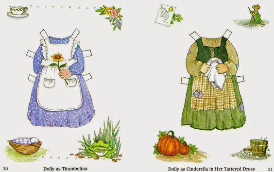 Las Recortables de Veva e Isabel: Susan Whited La Belle Little Dolly Dingle