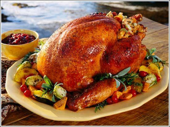 Receta De Pavo Relleno Para Acción De Gracias Y Navidad Food Turkey Meat