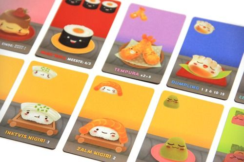 Sushi Go! fast paced card game