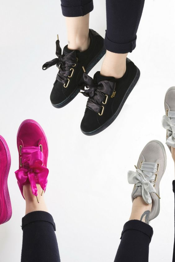 The new Basket Heart trainers have dropped