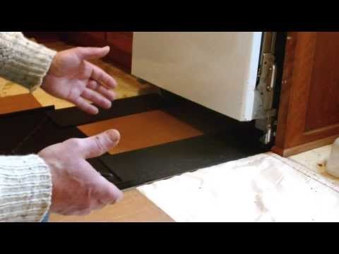 How to Use the FloorSkydds with your Dishwasher Leak Pan - YouTube