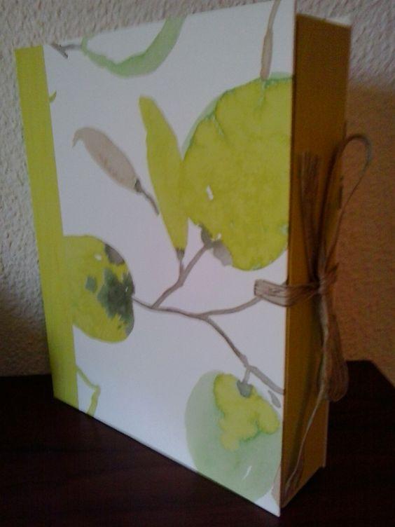 Caja Fruta pistacho by Antaño y Hogaño