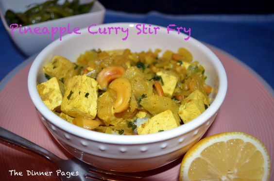 Pineapple Curry Stir Fry | Stir Fry, Curries and Tofu