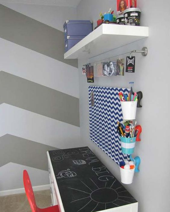 24 Adorable and Practica Homework Station Ideas That Your Kids Will Love