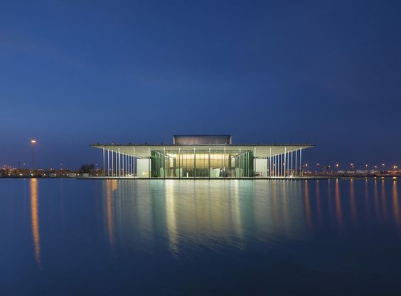 Teatro Nacional Bahrain / AS.Architecture Studio