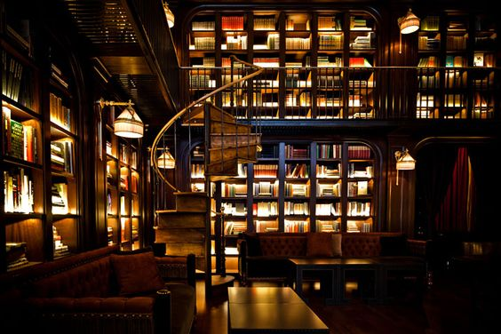 NoMad Hotel NYC library
