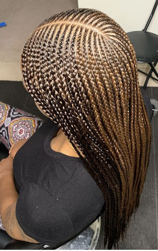 42+ Braids with part in the middle ideas