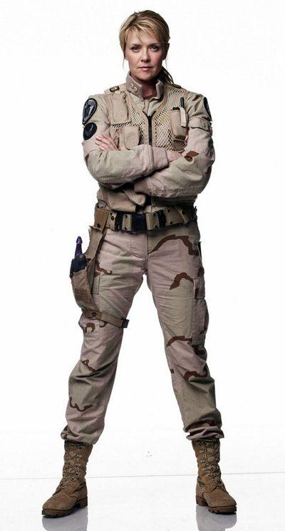Samantha Carter - Stargate SG-1. Most amazing female lead I think I've ever seen. 11 seasons of awesomeness (SG1 and SGA)