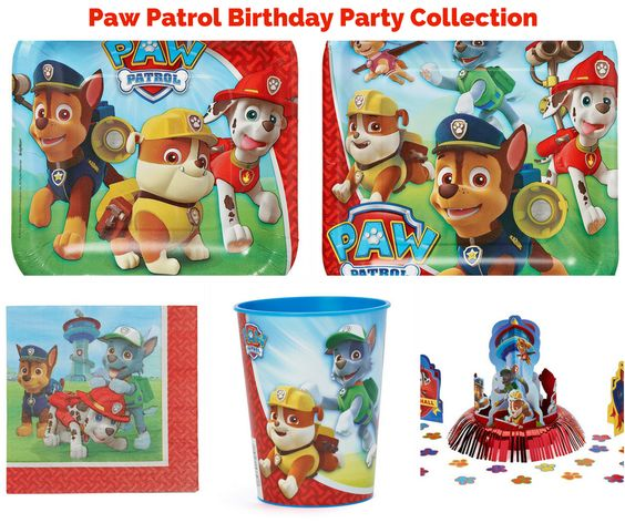 Paw Patrol Birthday Party Banner