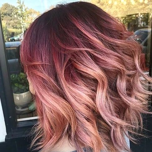 To Help You With Your Next Hair Makeover We Rounded Up Our Favorite Red Ombre Hair Ideas On Instagram Hair Makeover Hair Styles Red Ombre Hair