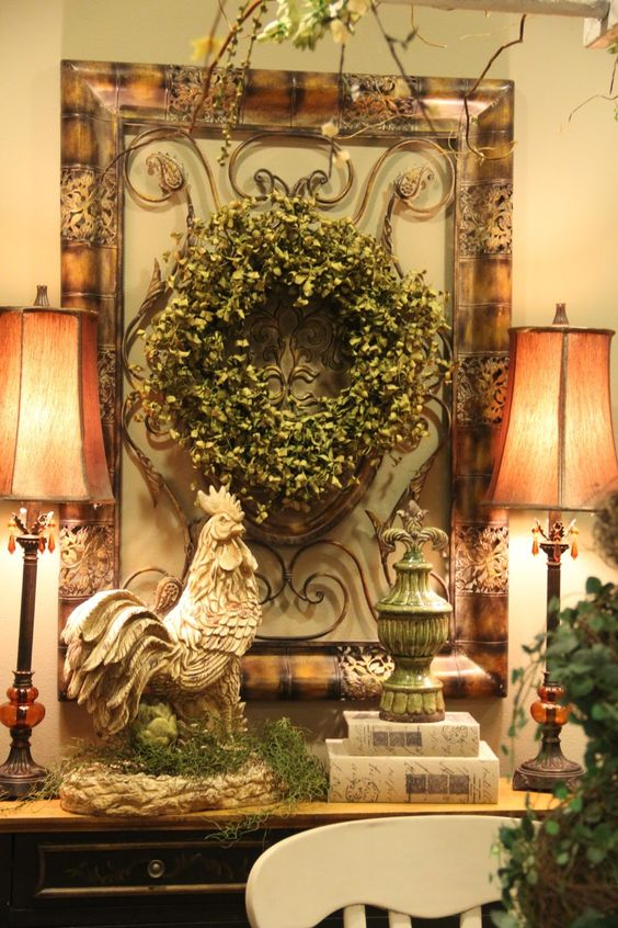 Vignettes Country French And Warm On Pinterest