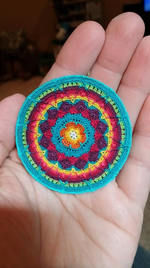Sewing Thread Sophie's Universe CAL - Crochet creation by Genevareclaimed