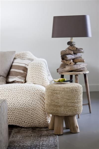explore crochet interiors modern knits and more lamps wooden lamp ...