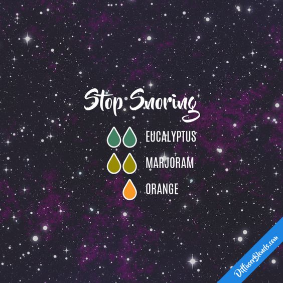Stop Snoring - Essential Oil Diffuser Blend