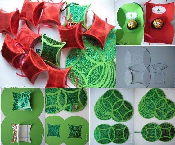 Preciosas cajitas para regalo o detalle ideales para - Manualidades para regalos ...