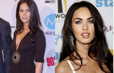 Megan Fox before plastic surgery   Funny Picture Clip: Megan Fox Plastic Surgery Before & After Pictures ...Better!
