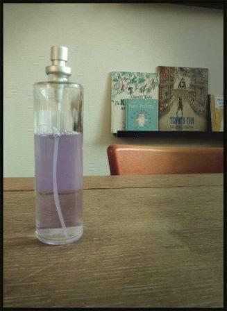 luchtverfrisser zelf maken voor een paar cent per flesje, simpel maar doeltreffend!