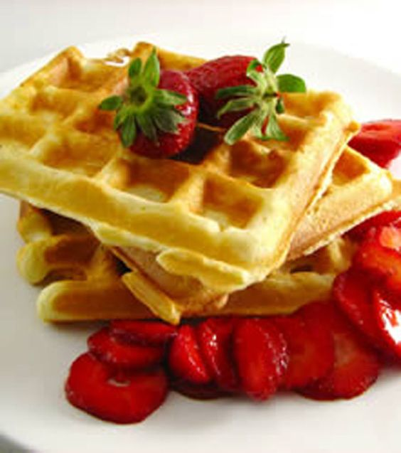 Simple Waffles from Scratch