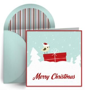 16 Places to Find Fabulous and Free Christmas Ecards: Christmas Delivery by Punchbowl