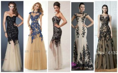 lindos vestidos de renda para casamento