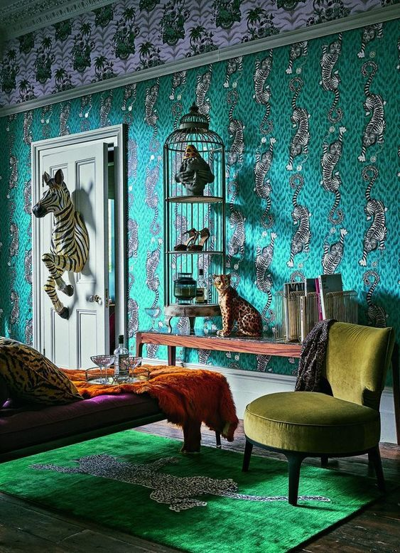 Maximalism – The Big Design Trend for 2018. Check Out These Maximalist Interiors