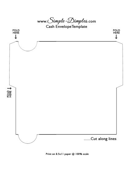 Simple Dimples Cash Envelope System u2013 Printable Dave Ramsey - simple budget