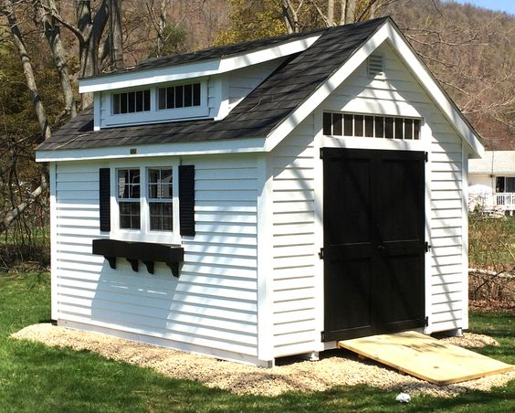 Sheds Minis And Shed Dormer On Pinterest