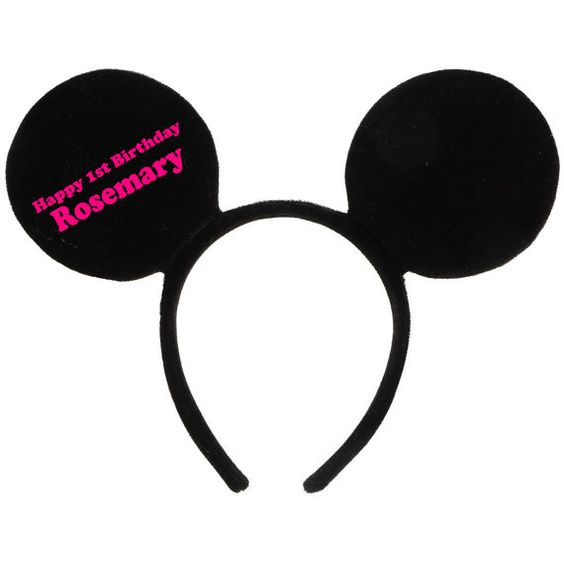 Hey, I found this really awesome Etsy listing at https://www.etsy.com/listing/256764907/mickey-mouse-ears-for-childrens-parties