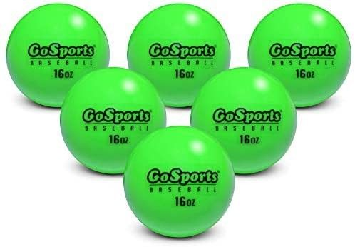 Gosports 2 8 Weighted Training Baseballs Hitting Pitching Training For All Skill Levels Impro In 2020 Baseball Hitting Softball Training Weight Training