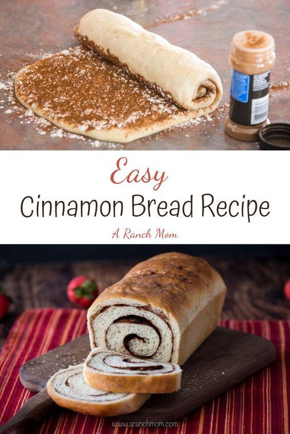Easy Cinnamon Bread Recipe - A Ranch Mom