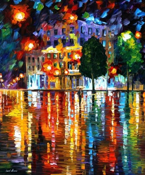 Lost Square by Leonid Afremov