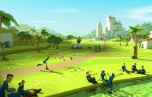 22cans Game Example Godus Peter Molyneux Happy Builder Settlement