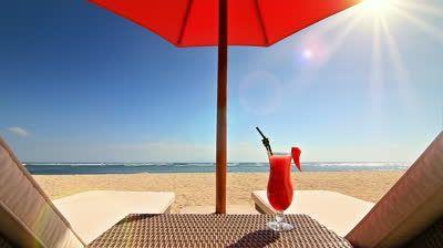 Beach Umbrella Drink