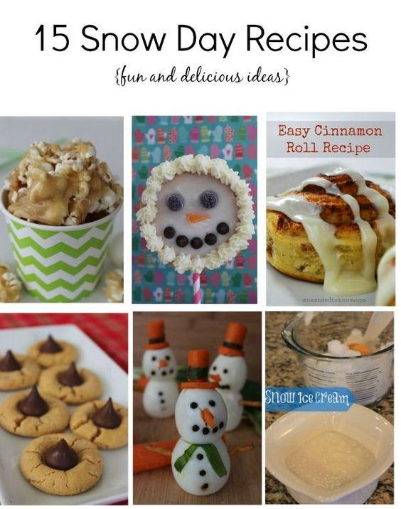 15 Snow Day Recipes - BargainBriana