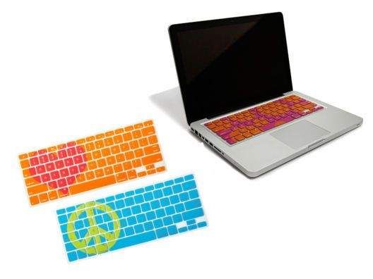 Adorable Keyboard Covers for your Macbook.