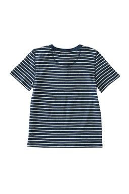 Striped Jersey Henley (Little Girls)