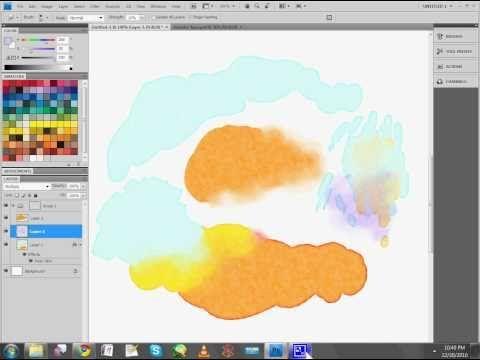 watercolor brush illustrator