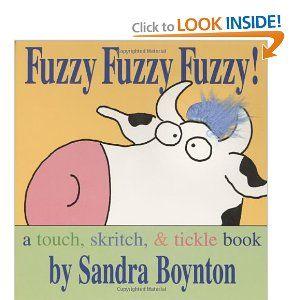 Fuzzy Fuzzy Fuzzy!: a touch, skritch, & tickle book(Board Book) by Sandra Boynton