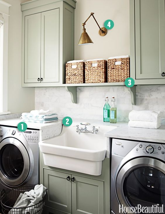 Laundry Laundry Rooms And Farmhouse Sinks On Pinterest