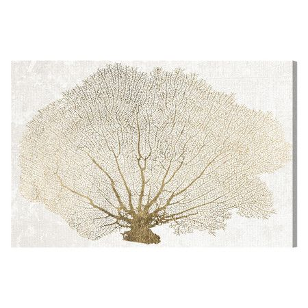 Hang this artful canvas print above a seating group to create a stylish conversation space or display it in your foyer as an eye-catching focal point. Showca...