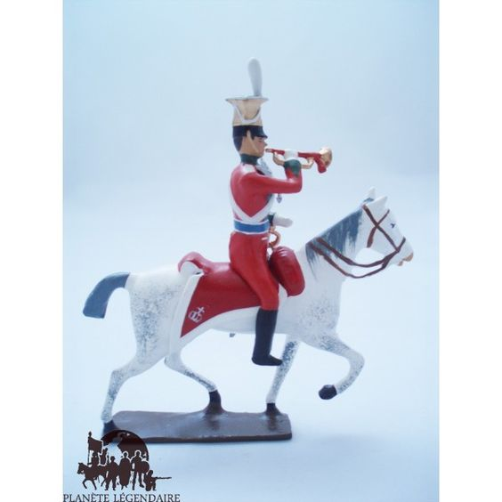 Action figure toy soldier CBG Mignot Uhlan of Bavaria Napoleon Figurines