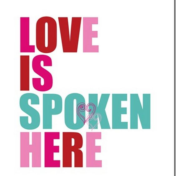 A great sentiment for Valentine's Day - print this art off for free!