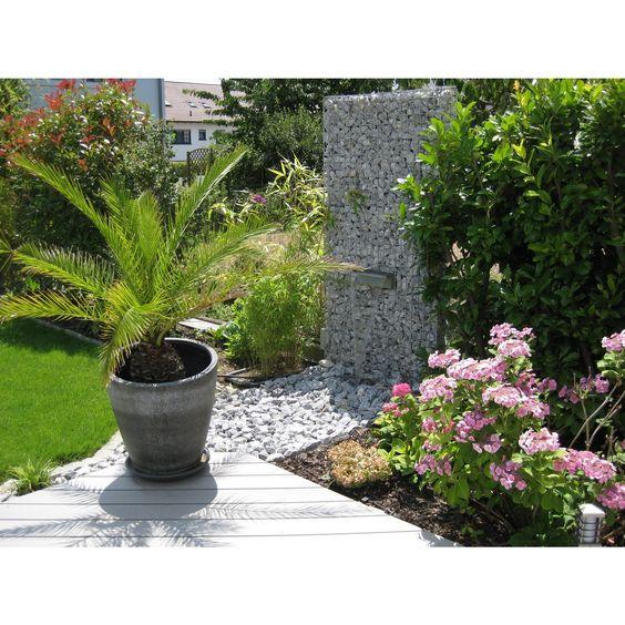 nautic pro wasserfall | gabionen wasserfall | pinterest | wasserfall, Hause und Garten